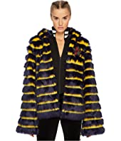 PUMA - Puma x Fenty by Rihanna Faux Fur Shawl Collar Jacket
