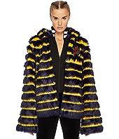 PUMA - Puma x Fenty by Rihanna Faux Fur Shawl Collar Jacket