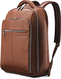 Samsonite Classic Leather Backpack, Brown, One Size