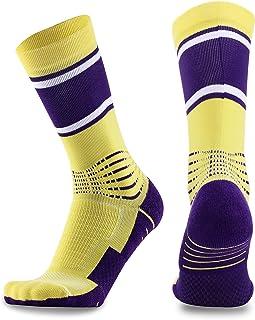 1597ea091b7f Basketball Socks Elite Socks Athletic Sports Socks Athletic Crew Sport for  Men Women Boys Girls