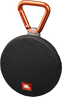 JBL Clip 2 Waterproof Portable Bluetooth Speaker (Black)