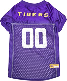 NCAA LSU Tigers Mesh Dog Football Pet Jersey