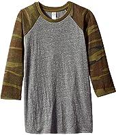 Baseball Printed Eco-Jersey T-Shirt (Big Kids)
