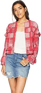 Women's Sparks Fly Yarn-Dyed Plaid Blazer