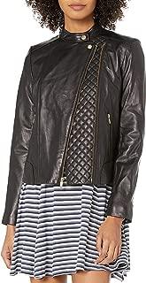 Women's Assymetrical Moto Jacket