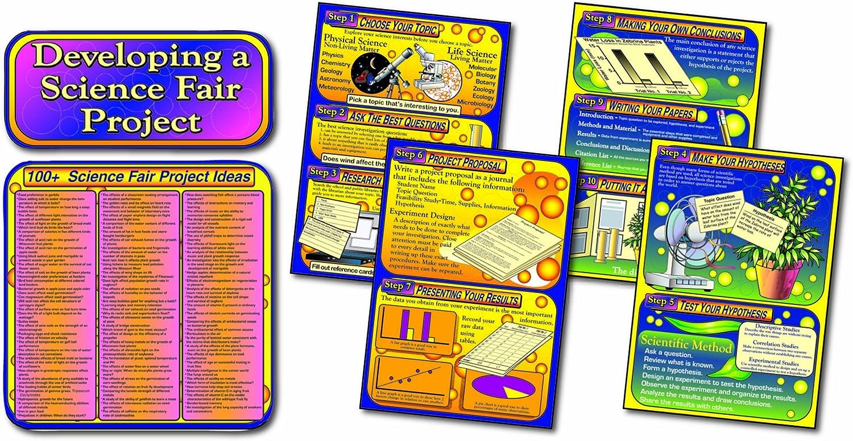 Carson Dellosa Mark Twain Entwicklung eine Wissenschaft Fair Projekt Bulletin Board Set (1950) B00D5SWXWM | Feinbearbeitung