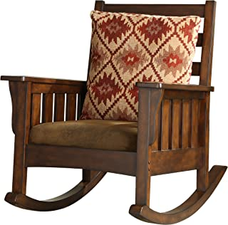 Furniture of America IDF-AC6401 Oria Chair, Brown