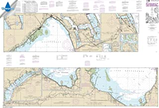 Paradise Cay Publications NOAA Chart 11428: Okeechobee Waterway St. Lucie Inlet to Fort Myers; Lake Okeechobee, 41 X 60, WATERPROOF