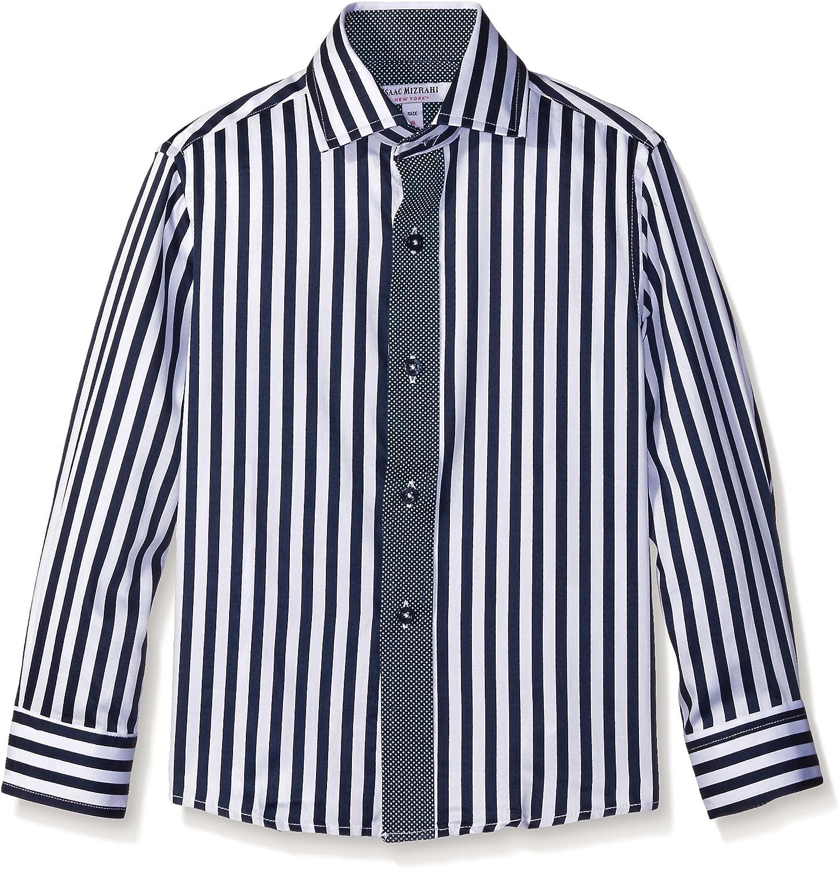 Isaac Mizrahi Boys' Contrast Stripes Shirt