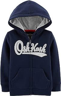 Boys' Full Zip Logo Hoodie
