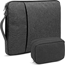 GMYLE 13-13.3 inch Water Repellent Laptop Sleeve with Handle and Pocket for MacBook Air Pro Retina & Laptop Notebook (Dell HP ASUS Lenovo Acer) - Carrying Bag Case 13-13.3 Inch black NPL520064