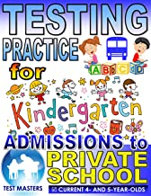 Testing Practice for Kindergarten Admissions to Private School (Preschool Level Questions)