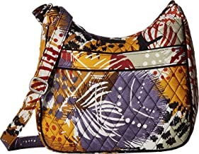 Vera Bradley Women's Carryall Crossbody Painted Feathers One Size