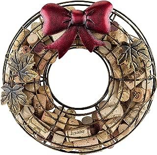 TRUE Holiday Wreath Wine Cork Holder