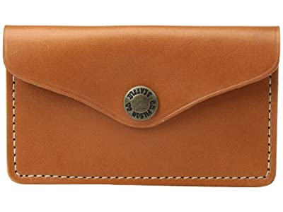 Filson Snap Wallet (Tan Leather) Wallet Handbags