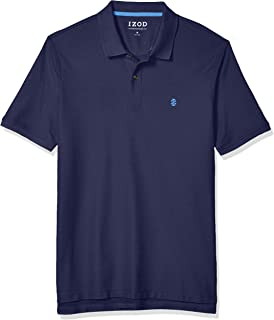 IZOD Men's Advantage Performance Short Sleeve Solid Polo