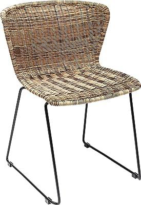 IKEA BERNHARD Stuhl, Chrom / Leder, WEIß: Amazon.de: Küche