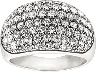 Silpada 'Embellished Pavé' Ring with Swarovski Crystals in Sterling Silver