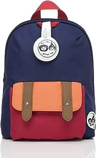 Babymel Mini Backpack and Safety Harness, Navy Colourblock,