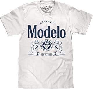 Cerveza Modelo T-Shirt - Modelo Lion Logo Beer Shirt