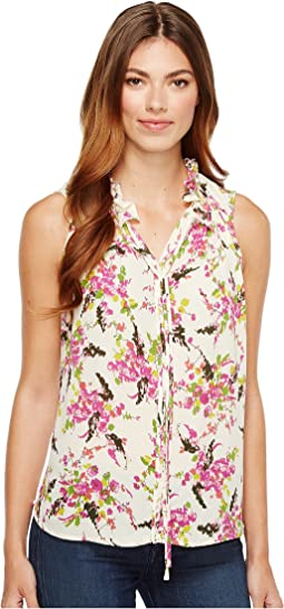 B Collection by Bobeau - Dahlia Woven Tank Top