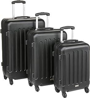 "Packenger Packenger 3er Koffer-Set ""Travelstar"" Trolley-Set Hartschale (M, L & XL) Hand Luggage, 75 cm"