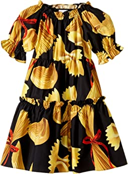 Dolce & Gabbana Kids - Pasta Poplin Dress (Toddler/Little Kids)