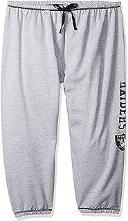 NFL Women Lt Weight Fleece Pant W/Topstitch Trim Outside Ds W/M Logo Down Leg