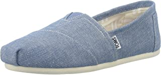 TOMS Chambray Classics, Women's Shoes, Blue