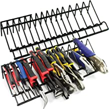 Plier Organizer Rack, 2 Pack, Stores Spring Loaded, Regular and Wide Handle Insulated Pliers, Tool Box Storage and Organiz...
