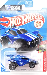 Hot Wheels 2019 HW Game Over Rocket League Octane 92/250, Blue