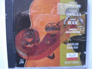 Onslow/Dancla/Rode: String Quartets
