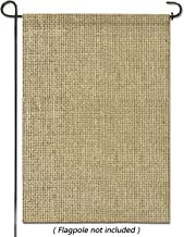 hblife Personalized Blank Burlap Garden Flag Happy Camper Banner Lawn Yard Outdoor Seasonal Holiday DIY Flag for New Home Gift Wedding Gift Housewarming Gift Home Decor,One-Sided 18