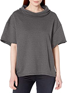 Fruit Of The Loom womens Essentials Over the Top Cowl Neck Pullover Shirt