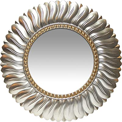 Amazon Com Fab Glass And Mirror 30 Quot Inch Round Beveled