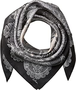 Echo Design - Camden Lace Silk Square Scarf