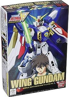 1/144 Gundam Wing WF #01 Wing Gundam with 1/35 Heero Yuy (opening pose)