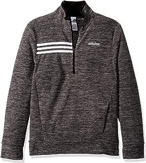 adidas Boys' Big Microfleece Half Zip Sweatshirt