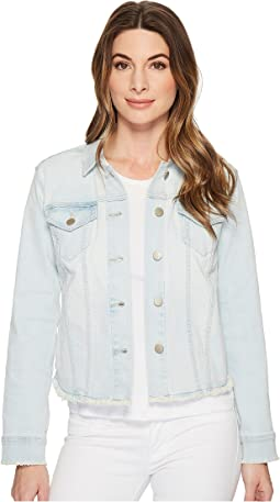 Denim Jacket w/ Fray Hem in Palm Desert