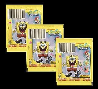 2011 Nickelodeon SpongeBob SquarePants - 7 Album Sticker Pack x3 (3 Pack Lot - 24 Stickers)