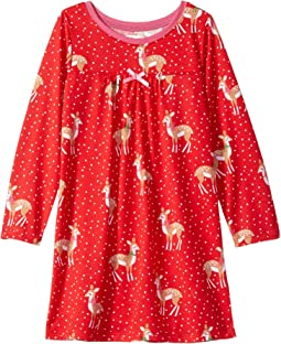 Holiday Deer Night Dress (Toddler/Little Kids/Big Kids)
