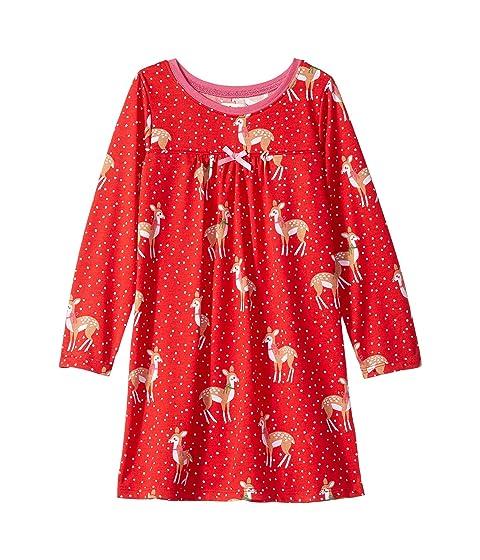 Holiday Deer Night Dress (Toddler/Little Kids/Big Kids)