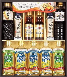 日清キャノーラ油&和調味料ギフト