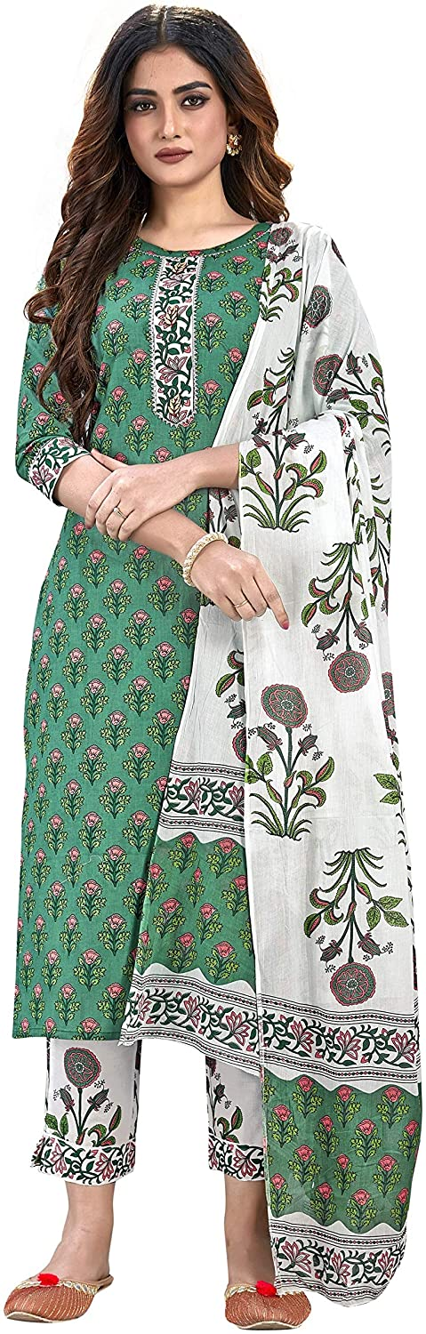 Indian Tunic Tops Straight 3 4 Cotton Tu Down Sleeve 5 ☆ very popular Button New color Neck