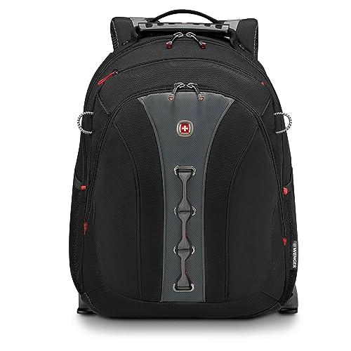 """Wenger Legacy 16"""" Eleganter Business Laptop Rucksack in schwarz/grau"""