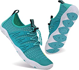 WXDZ Mens Womens Water Shoes Swim Shoes Aqua Shoes Beach Sports Quick Dry Barefoot for Boating Fishing Diving Surfing with...