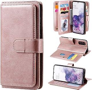LODROC Lederen Portemonnee Case voor Galaxy S20, [Kickstand Feature] Luxe PU Lederen Portemonnee Case Flip Folio Cover met...