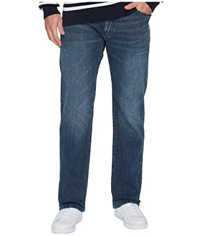 Nautica Relaxed Fit Stretch in Gulf Stream Wash (Gulf Stream Wash) Men
