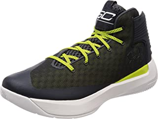 Under Armour Men's Curry 3Zero Basketball Shoe Stealth Grey/White Size 12 M US