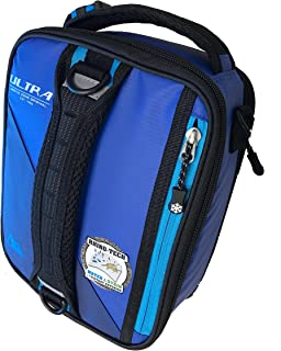 Arctic Zone 3-in-1 Bento Lunch Bag Durable Lunch Box with Drink Cooler Compartment Detachable Shoulder Strap and 2 Reusable Ice Pack, Blue